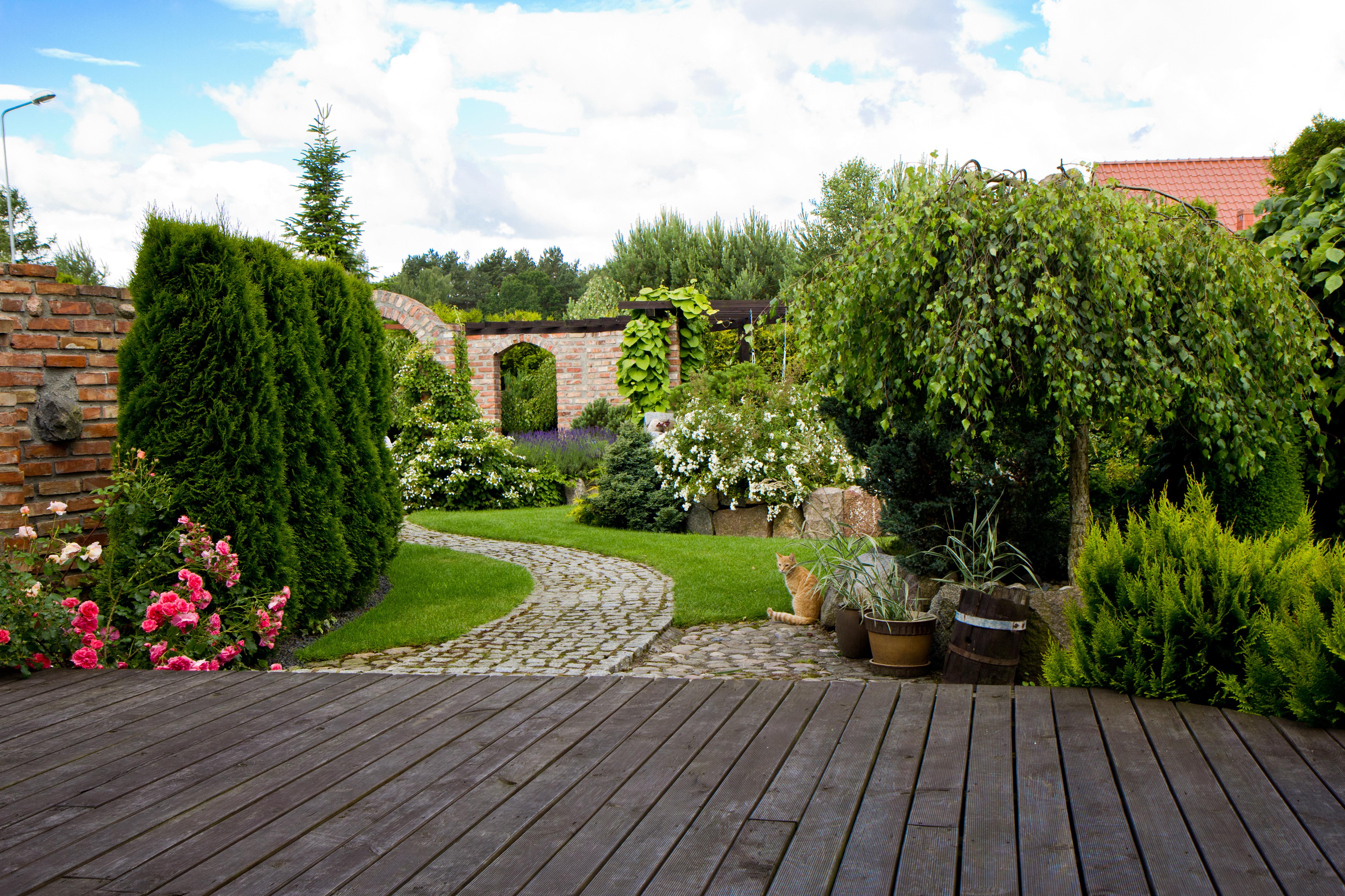 Piękny ogród o każdej porze